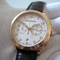 Boucheron Chronograph 43mm Automatik neu Weiß