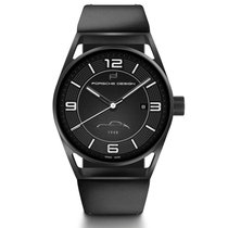 Porsche Design 1919 Titanium 42mm Black Arabic numerals