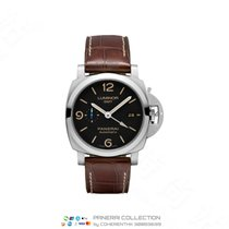 Panerai Luminor 1950 3 Days GMT Automatic new 44mm Steel