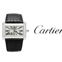 Cartier Tank Divan usados 38mm Acero