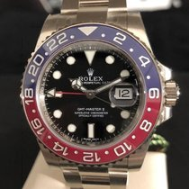 Rolex 116719BLRO Ouro branco GMT-Master II 40mm