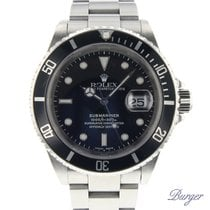 Rolex 16610 Staal 2002 Submariner Date 40mm tweedehands Nederland, Maastricht