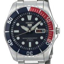 Seiko 5 Sports Steel 41mm Blue