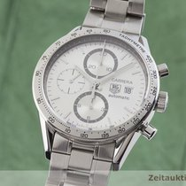 TAG Heuer Carrera Calibre 16 Zeljezo 41.5mm Srebro