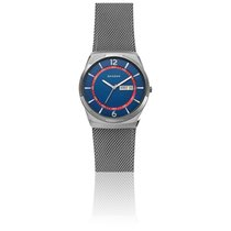 Skagen Steel 40mm Quartz new