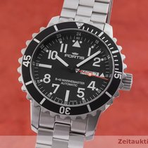 Fortis Steel 46mm Automatic 670.10.158 pre-owned