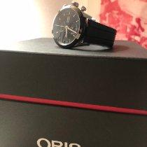 Oris Artix GT pre-owned 44mm Black Chronograph Date Rubber