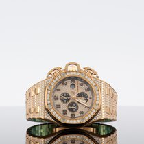 Audemars Piguet Rose gold Automatic Black Arabic numerals 48mm new Royal Oak Offshore Chronograph