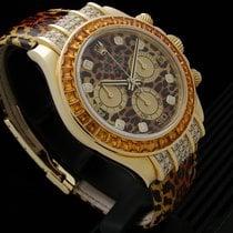 Rolex Daytona Κίτρινο χρυσό 40mm Xωρίς ψηφία