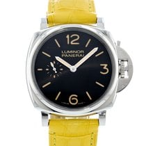 Panerai Luminor Due Aço 42mm Preto