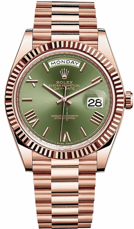 Rolex Day-Date 40 228235 2021 nuevo