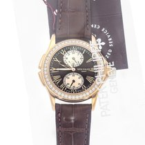 Patek Philippe Travel Time Rose gold 35mm Brown Roman numerals United States of America, Pennsylvania, Bala Cynwyd