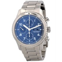 Breitling Navitimer 8 pre-owned 43mm Blue Chronograph Date Steel