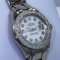 Rolex Lady-Datejust Pearlmaster 80319 Very good White gold 29mm Automatic