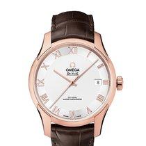 Omega 433.53.41.21.02.001 Oro rosa 2019 De Ville Hour Vision 41mm nuevo