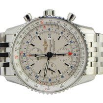 Breitling Navitimer World A2432212/G571-navitimer-steel pre-owned
