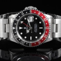 Rolex 16710 SS GMT-Master II w/ Black Dial and Coke Bezel on OYS