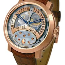 Pierre Kunz Complication 18K Rose Gold Unisex Watch