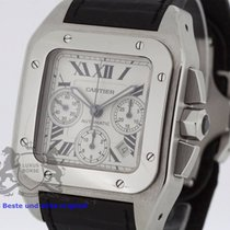 Cartier Santos 100 XL Chronograph Box & Swiss Papers 2007