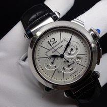 Cartier Pasha Cronografo acciaio 42 mm