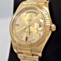 Rolex Day-date II President 218238 18k Yellow Gold Factory...