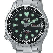 Citizen 42mm Automatika nov Crn