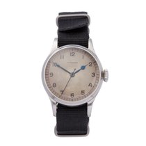 Longines 32mm Manual winding 1940 pre-owned Grey