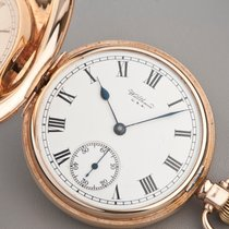 Waltham 9ct gold Full Hunter manual pocketwatch