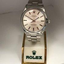 Rolex Oyster Perpetual 34 Acier 34mm Argent Sans chiffres France, Paris