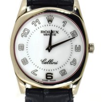 Rolex Cellini Danaos White gold 33mm White Arabic numerals United States of America, New York, New York