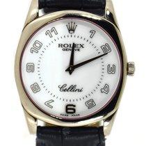 Rolex Cellini Danaos pre-owned 33mm White gold