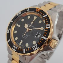Revue Thommen Nautical Gold and Steel Diver 660Ft Swiss Made