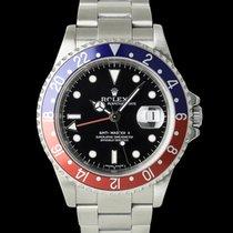 Rolex 16710 Stahl GMT-Master II 40mm