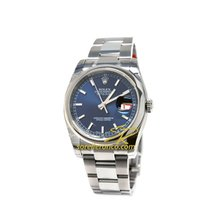 Rolex 36mm Automatic new Datejust (Submodel) Blue