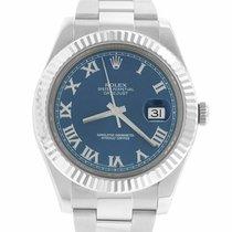 Rolex Datejust II Gold/Steel 41mm Blue Roman numerals United States of America, New York, Massapequa Park