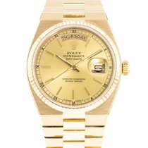 Rolex Day-Date Oysterquartz Yellow gold 36mm Champagne United States of America, Georgia, Atlanta