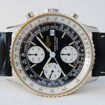 Breitling Old Navitimer Acero y oro 41.5mm Negro Árabes