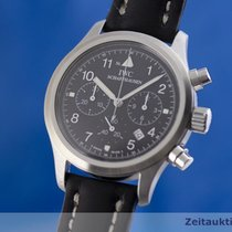 IWC 3741 Steel 2000 Pilot Chronograph 36.5mm pre-owned