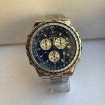 Breitling Jupiter Pilot Steel 42mm Blue No numerals
