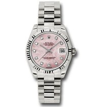 Rolex Datejust Or blanc 31mm