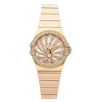 Omega Constellation Ladies Rose gold 31mm