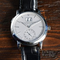 A. Lange & Söhne Langematik pre-owned 37mm Silver Date Buckle