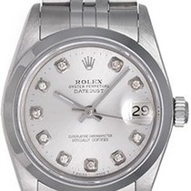 Rolex Lady-Datejust 31mm Argent Sans chiffres