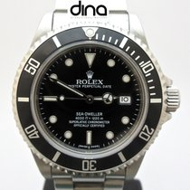 Rolex Sea-Dweller 4000 Ατσάλι 40mm Μαύρο Xωρίς ψηφία