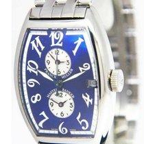 Franck Muller Master Banker Steel 32mm Blue Arabic numerals United States of America, Florida, 33431