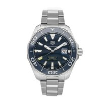 TAG Heuer Aquaracer 300M Steel 43mm Blue No numerals United States of America, Pennsylvania, Bala Cynwyd