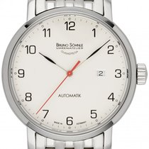 Bruno Söhnle Steel 42.5mm Automatic 17-12137-222 new