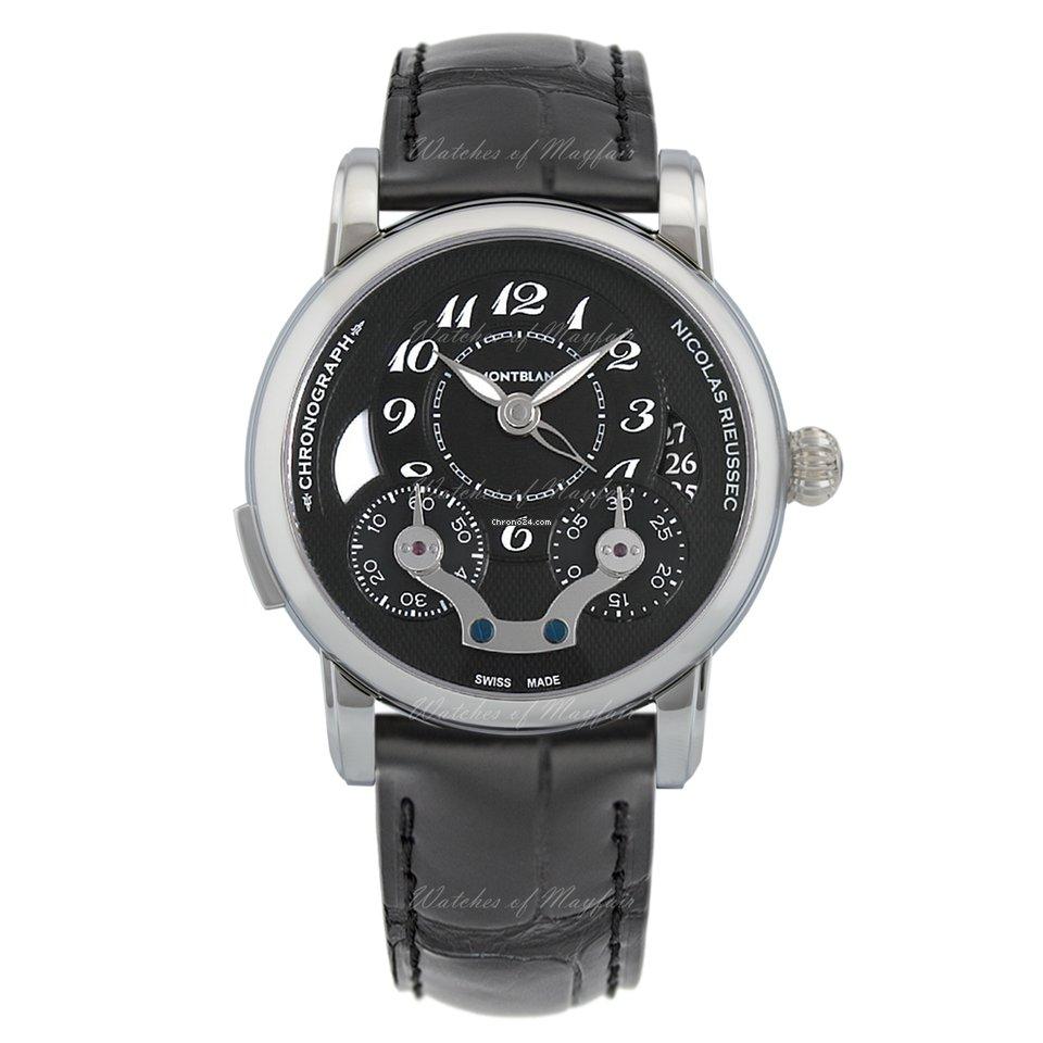 06d871e6508 Montblanc Nicolas Rieussec - Todos os preços de relógios Montblanc Nicolas  Rieussec na Chrono24