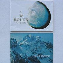 Rolex Set Libretti / Booklet per Freccione 1655 e 1016