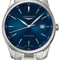 Longines Master Collection Steel 42mm Blue United States of America, New York, Airmont